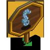 Bubble Seahorse Mastery Sign-icon