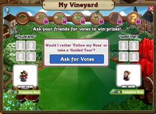 Charming Vineyard Question 1