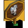 Zebra Unicorn Mastery Sign-icon
