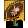 Caramel Apple Pig Mastery Sign-icon