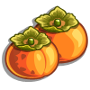 Orange Persimmon-icon