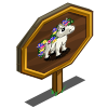 Orchid Mini Horse Mastery Sign-icon