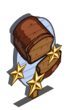 Pumpkin Bread 3 Star Mastery Sign-icon