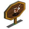 Western Longhorn Calf Mastery Sign-icon