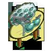 Chrome Apple Tree Mastery Sign-icon