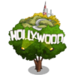 Hollywood Sign Tree-icon
