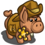 Magnificent Town Sheriff Pig-icon
