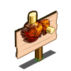 Maple Syrup Leaves Mastery Sign-icon