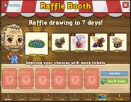 Raffle Booth November 7 2011