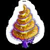 Aqua Spiral Tree-icon