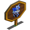 Blue Candy Pegacorn Foal Mastery Sign-icon