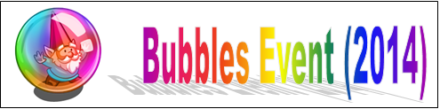 Bubbles Event (2014) Event Banner