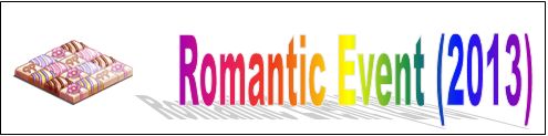 Romantic Event (2013) Event Banner
