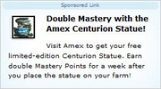 Double mastery amex centurion sponsored link