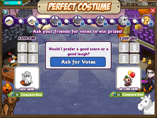 Perfect Costume Question 1