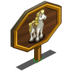 Art Deco Horse Mastery Sign-icon