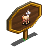 Candy Corn Stallion Foal Mastery Sign-icon