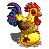 Gem Studded Chicken-icon