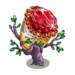 Sparkling Ruby Ring Tree-icon