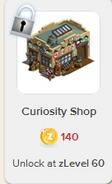 Curiosity Shop Rewardville locked