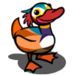 Male Mandarin Duck-icon