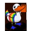 Rainbow Duck-icon