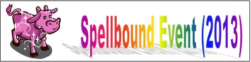 Spellbound Event (2013) Event Banner