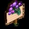 Violet Allium Mastery Sign-icon