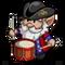 Drummer Boy Gnome-icon