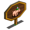 Party Pig Mastery Sign-icon