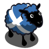 Scottish Flag Ewe-icon