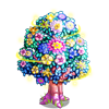 Floral Plate Tree-icon