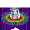 Rainbow Fountain-icon