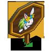 Aloha Rabbit Mastery Sign-icon