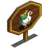 Aromatic Chicken Mastery Sign-icon