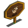 Big Horn Sheep Mastery Sign-icon