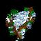 Dewdrops Web Tree-icon