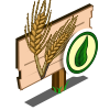 Organic Wheat Mastery Sign-icon