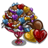 Chocolate Heart Tree-icon