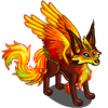 Flying Flame Fox-icon
