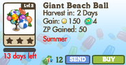 Giant Beach Ball Tree Market Info (June 2012)