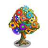 Mixed Media Tree-icon