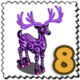 Spooky Dooky Deer Stamp-icon