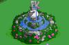 Anniversary Fountain Placed Outside Farm