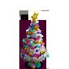 Dark Christmas Tree-icon