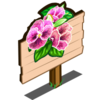 Pink Pansy Mastery Sign-icon
