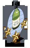 White Sangria 3 Star Mastery Sign-icon