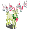 Wreath Wrapped Deer-icon
