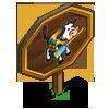 Canoe Cow Mastery Sign-icon