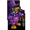 Classy Penguin-icon